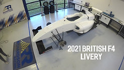 The making of our 2021 British F4 livery