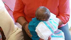 Burping Newborn Babies