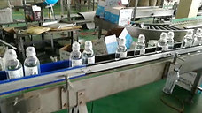 high speed water adhesive labeler line