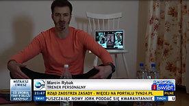 Wywiad z TVN24 Maciej Miller od 2:20 :)
