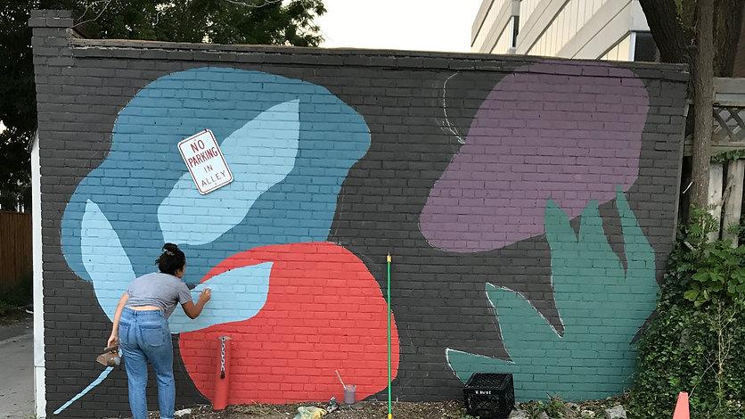Bloor West Village Mural