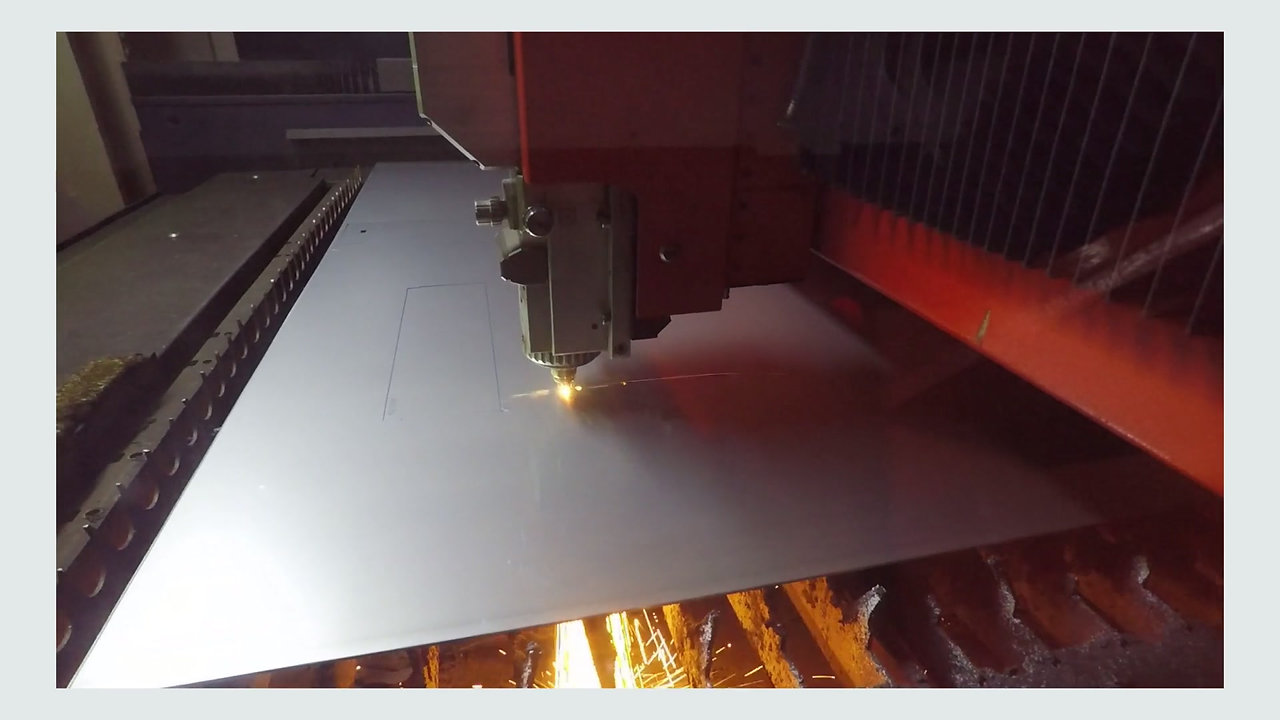 Watch our stainless steel rooflights being manufactured