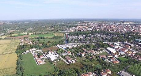 Panoramica su Vigevano