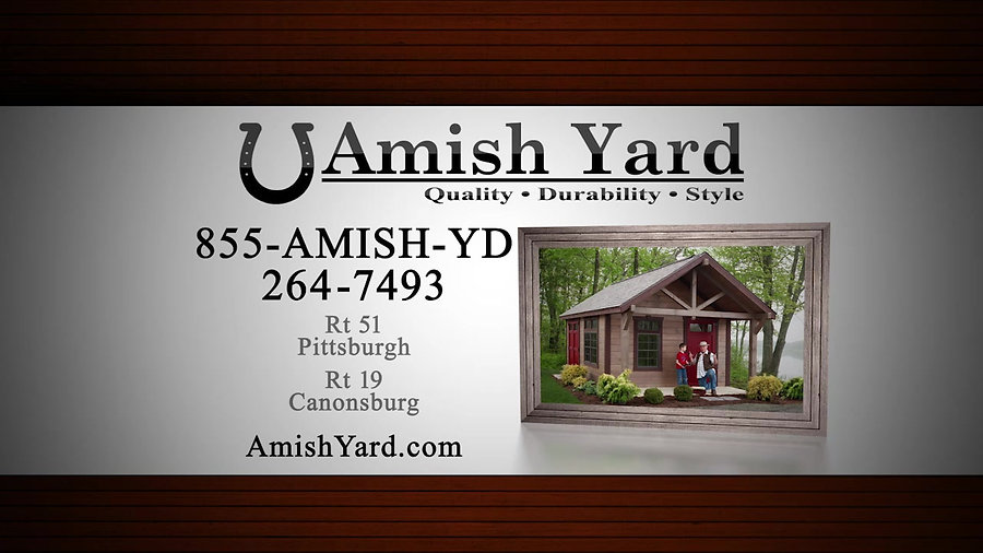 Amish Yards Sheds
