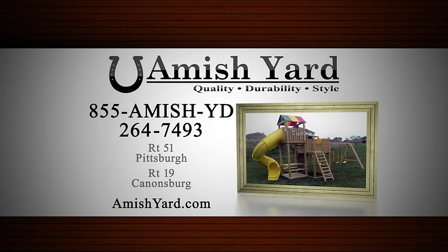 Amish Yards Playsets