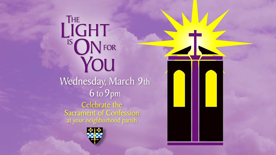 Catholic Diocese of Pittsburgh - The Light is On - Lent