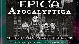 THE EPIC APOCALYPSE TOUR - Animated Poster