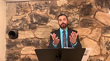 Pastor Phil teaching on Job chapters 9 and 10