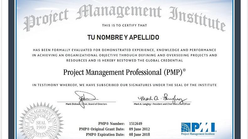 Certificación PMP®