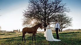 NATURAL WEDDING INTO THE WOOD