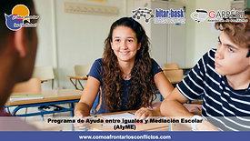5. Programa de Ayuda entre Iguales y Mediación Escolar (AIyME)