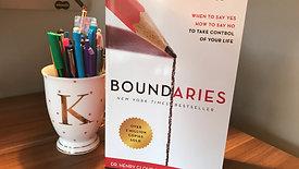 Boundaries by Dr. Henry Cloud & Dr. John Townsend