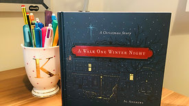A Walk One Winter Night by Al Andrews
