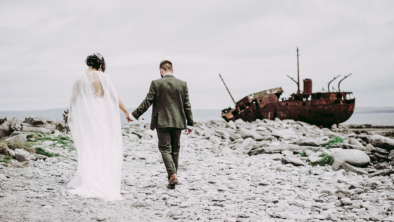 Triona and Patrick's wedding video - Ireland, Galway, Aran Islands, Inis Oírr (Inisheer)_