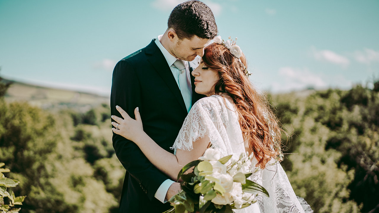 Cagil & Joe - Powerscourt elopement