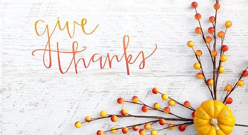 Thanksgiving Video 2020