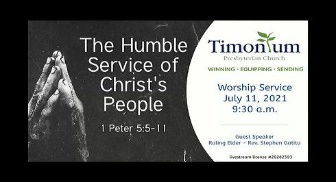 July 11 Worship