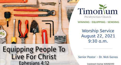 Aug 22 Worship Service