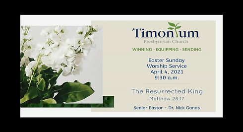 Easter Sunday April 4