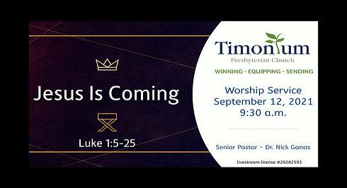 September 12 Worship Service
