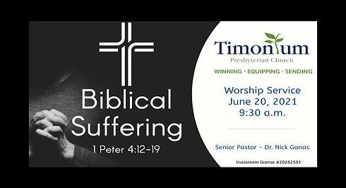 June 20 Worship Service
