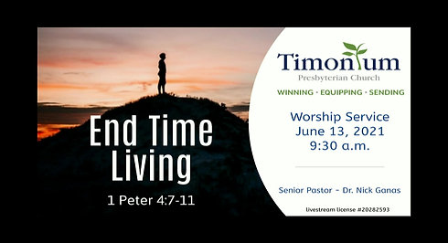 June 13 Worship Service