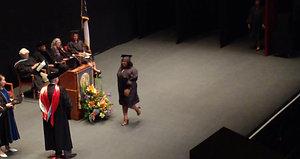 Kenyatta receives GED diploma