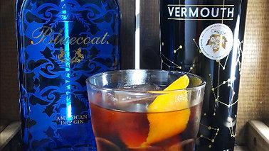 Negroni con Bluecoat Gin