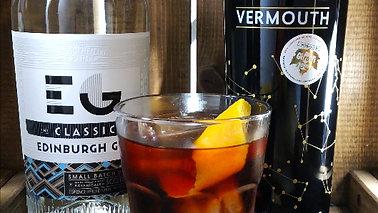 Negroni con Edinburgh Gin