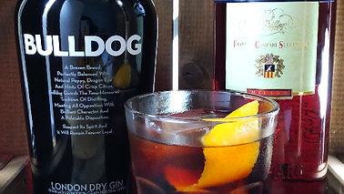 Negroni con Bulldog Gin