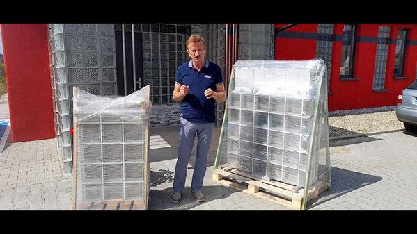 Omówienie wysyłki okien z pustaków szklanych