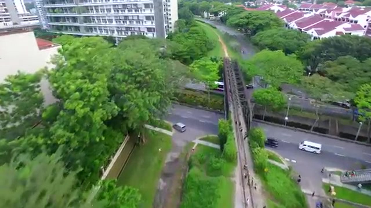 Compressport Rail Corridor Run 2016 Video 4K