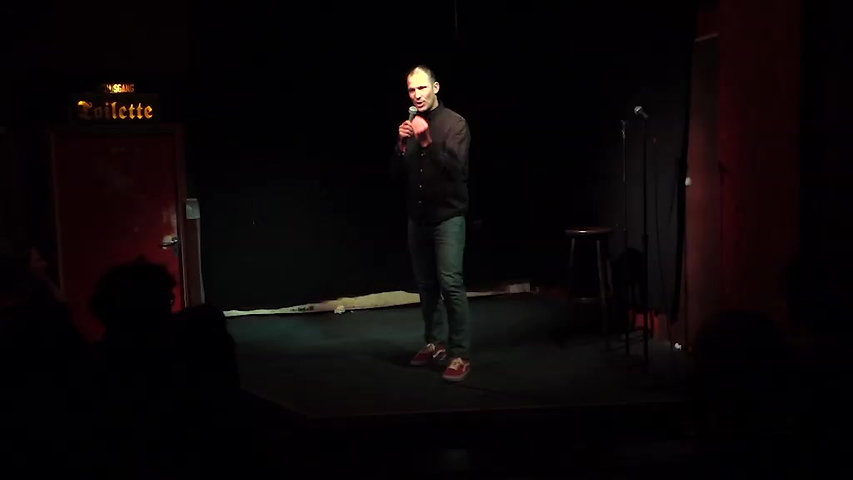 Ben Schmid at Kaffee Burger Comedy Januar 2018