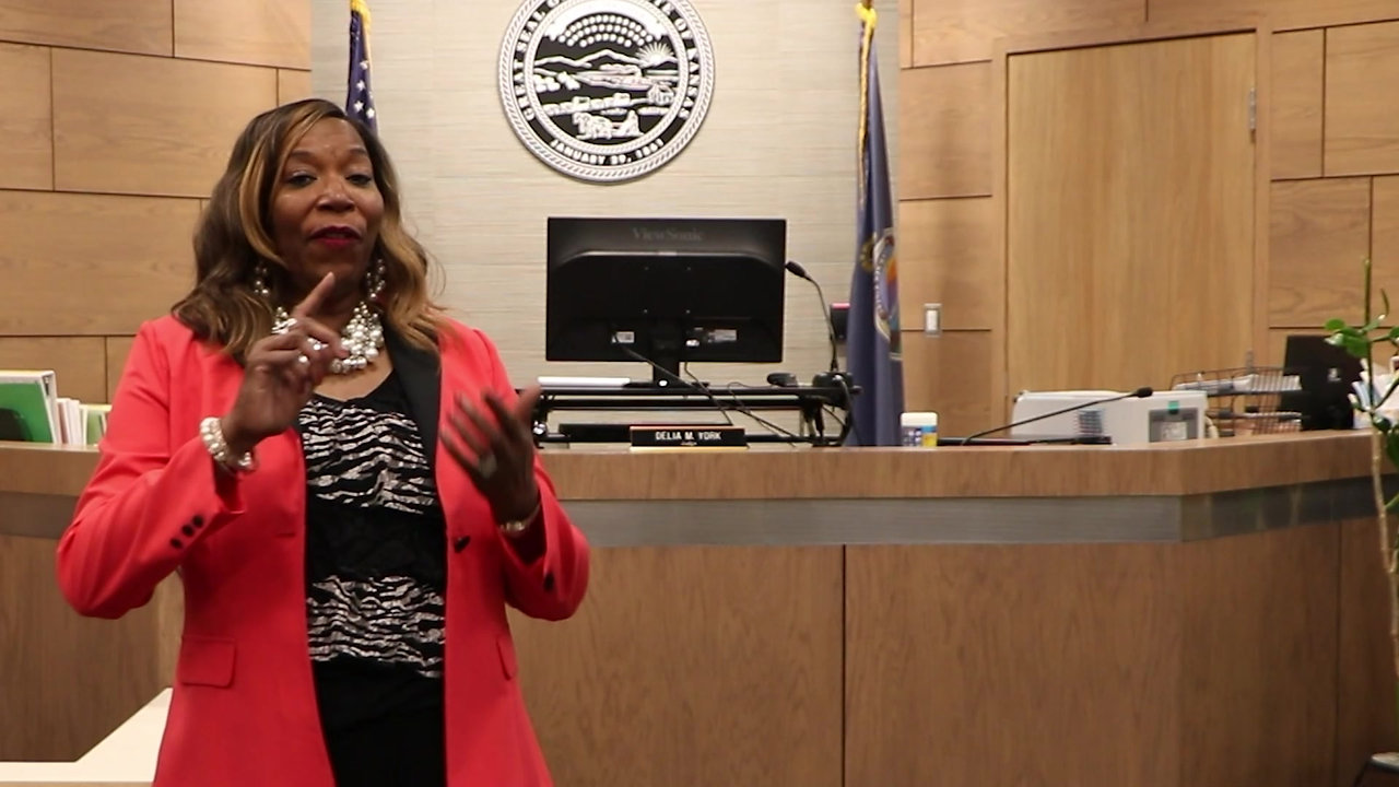 Dr. Hill Speaks to Wyandotte County