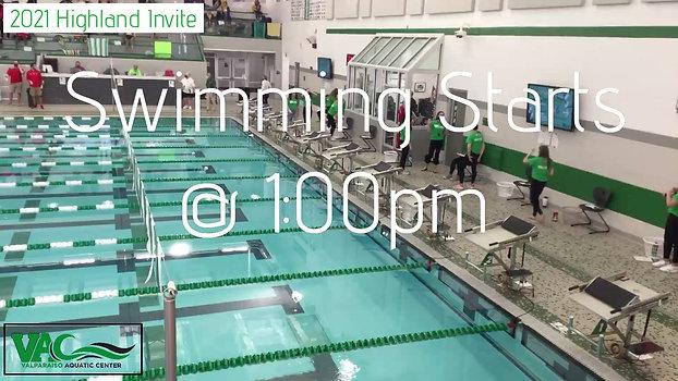 2021 Boys Highland Invite~Before Diving Break