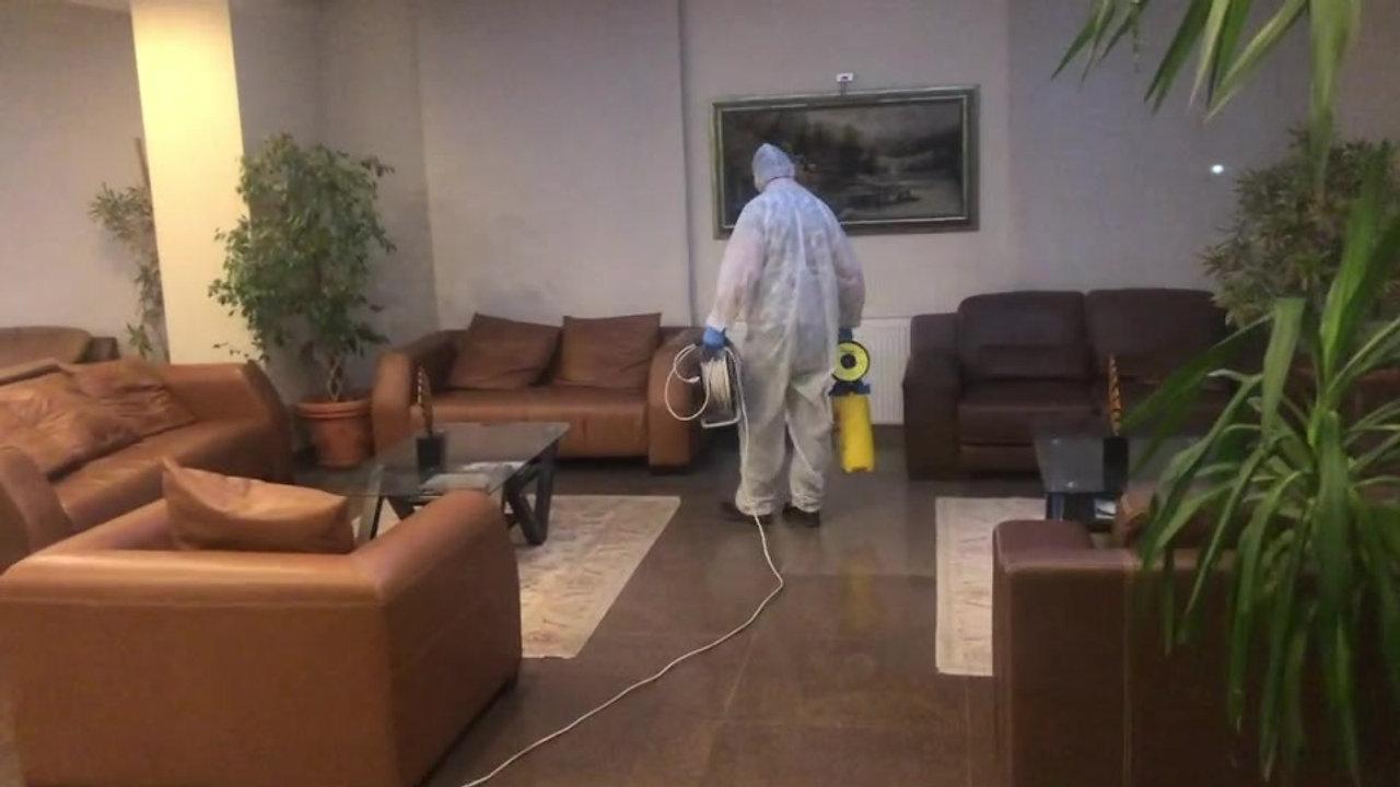 Otelimizin Dezenfeksiyon Çalışmaları