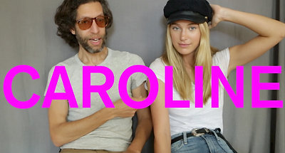 Model Caroline Lowe at IMG's Personal Style
