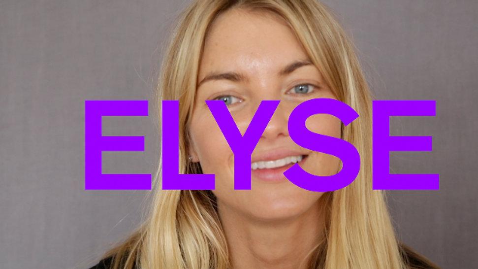 Elyse Taylor at IMG-Who Do You Love?