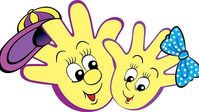 Весёлые пальчики малышей