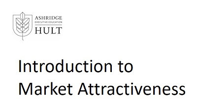 3.a.ii.1.Introduction to market attractiveness