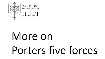 3.a.ii.3. Market Attractiveness Part 3- More on Porters five forces
