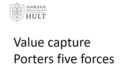 3.a.ii.2. Market Attractiveness Part 2- Value capture and Porters five forces