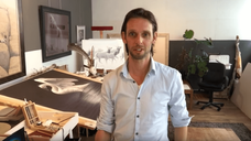 Inside the Artists Studio Renso Tamse
