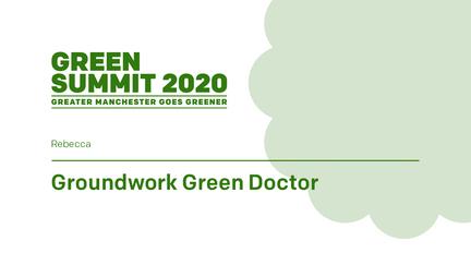Groundwork - Green Doctor