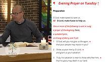 Tuesday 30th June Evening Prayer