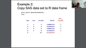 Using the R Interface in SAS to Call R Functions and Transfer Data