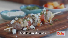 Harissa Veal Meatballs Dole's Good for the Soul (1)