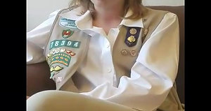 Gertrude Edderle—Girl Scouts