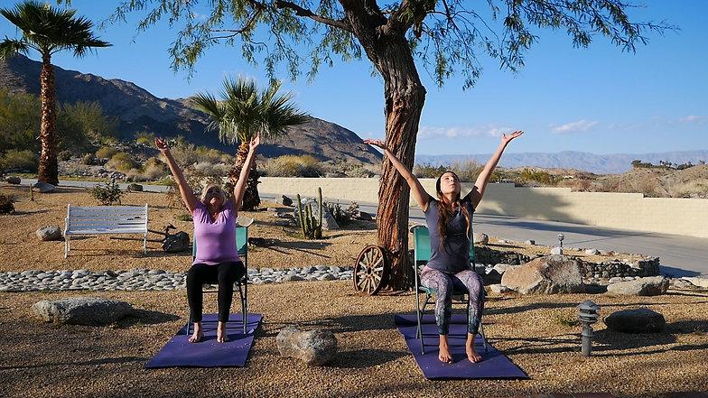 Gentle Chair Yoga Practice