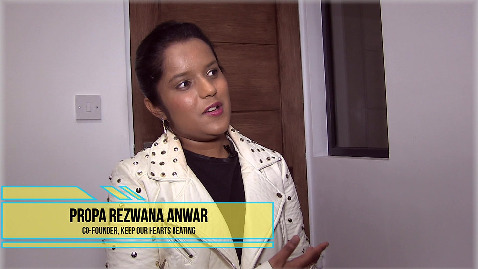 Propa Rezwana Anwar on Organ Donation
